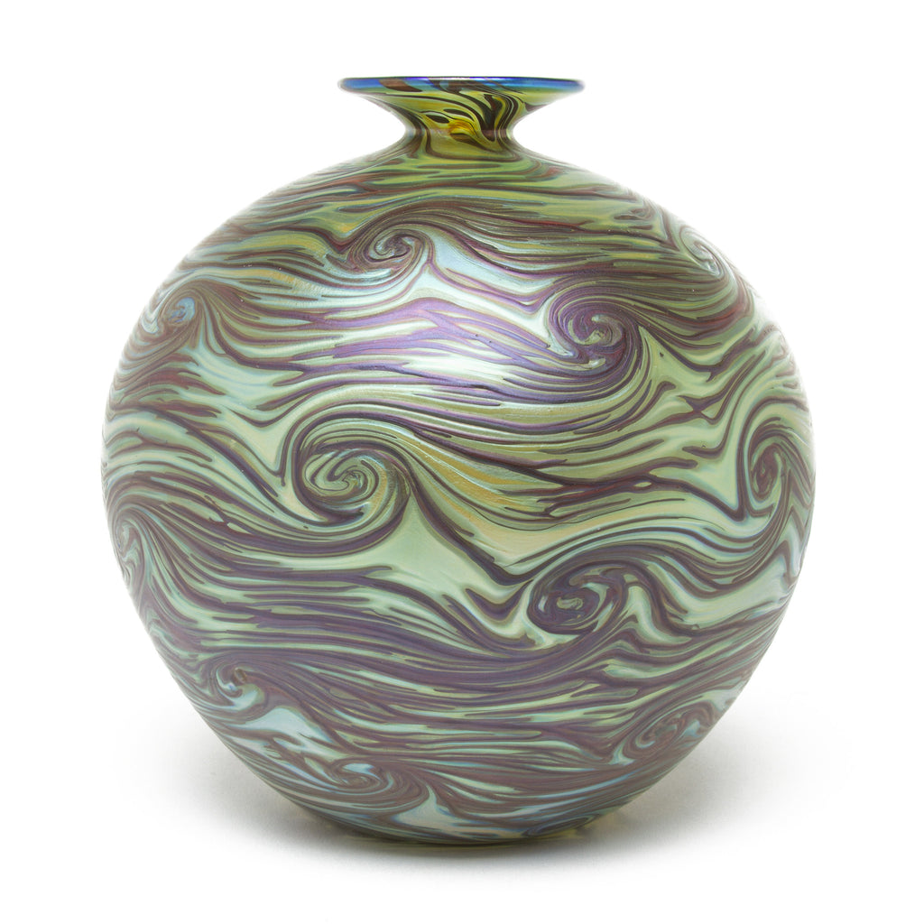 Vizzusi Art Glass Vase - Jupiter Pelota