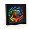 "Cleverclock: Spectrum 9"" Wall Clock"