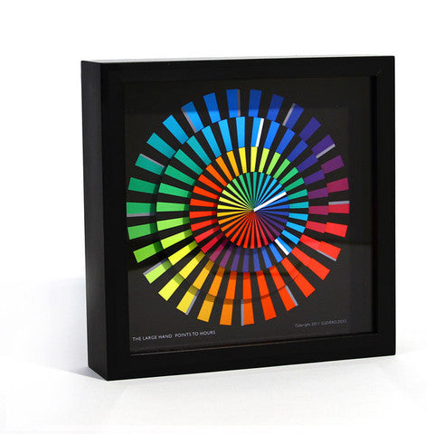 "Cleverclock: Spectrum 12"" Wall Clock"