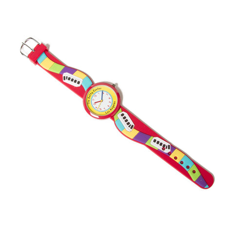 Children's Getty Tram Watch - Red