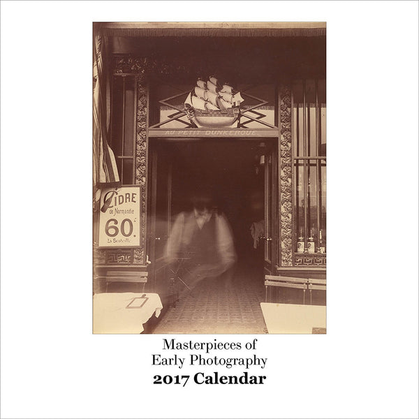2017 Wall Calendar - Masterpieces of Early Photography