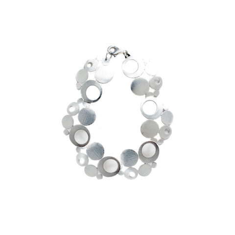 Sterling Silver Bubble Bracelet