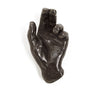 Miniature Cast Bronze Hand in Blessing Gesture