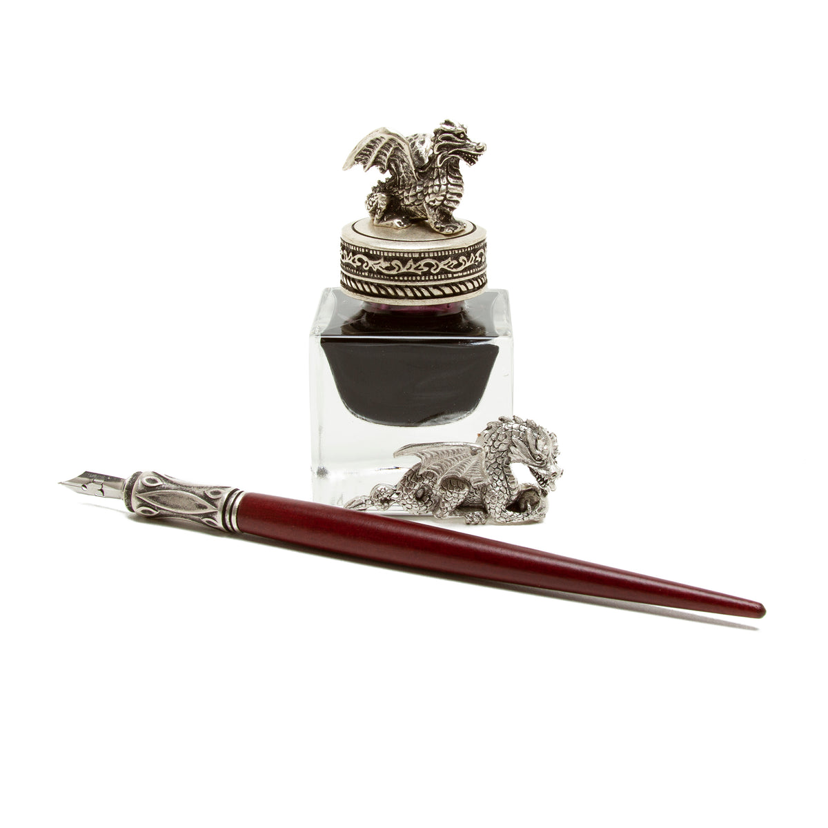 Calligraphy Set with Dragon Inkwell | Getty Store