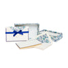 Florentine Folded Stationery Cards - Blue