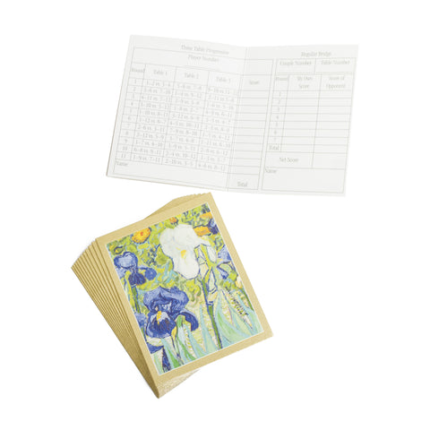 Van Gogh <i>Irises</i> Bridge Tallies