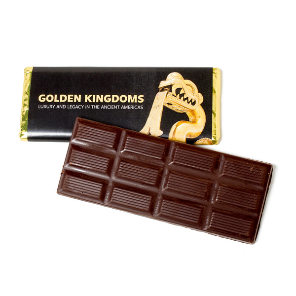 Golden Kingdoms Organic Spicy Dark Chocolate Bar