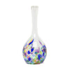 Hand Blown Glass Bud Vase - Multicolor