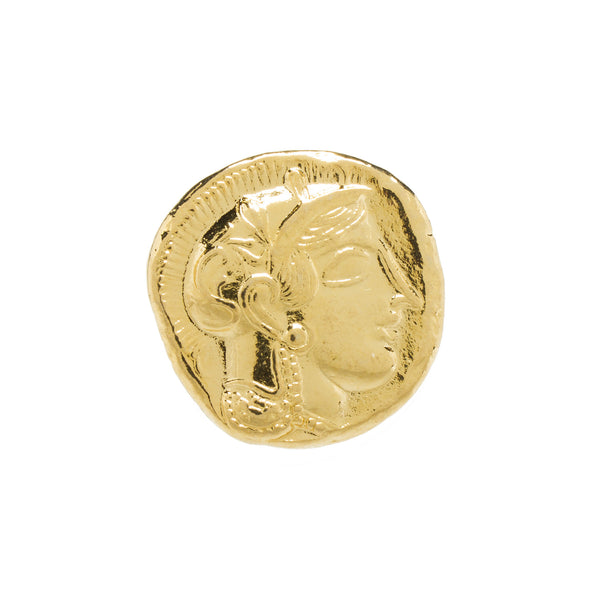 Greek Coin Reproduction - Athena & Owl - Gold