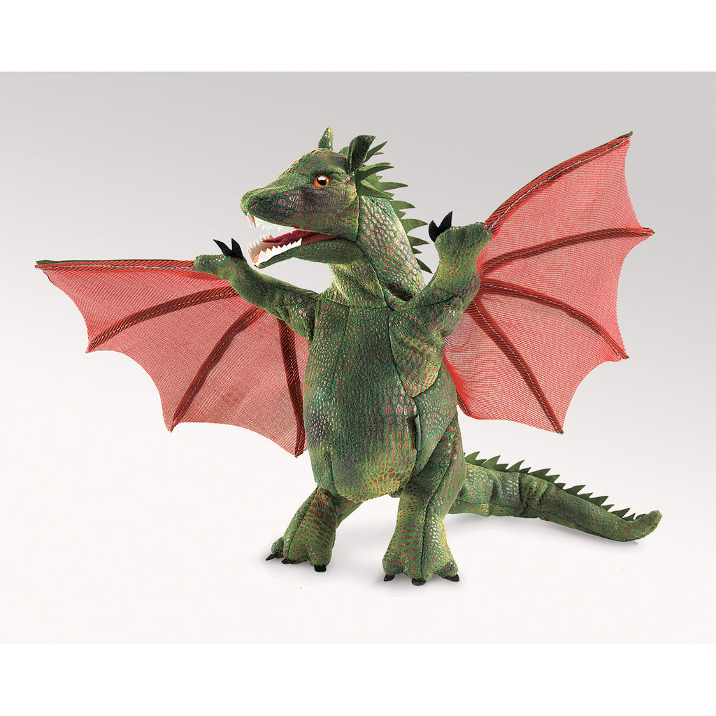 Winged Dragon Hand Puppet