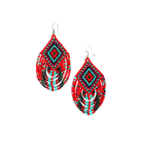Red Mesa Earrings