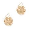 Etruscan Rosette Earrings - Large Drop