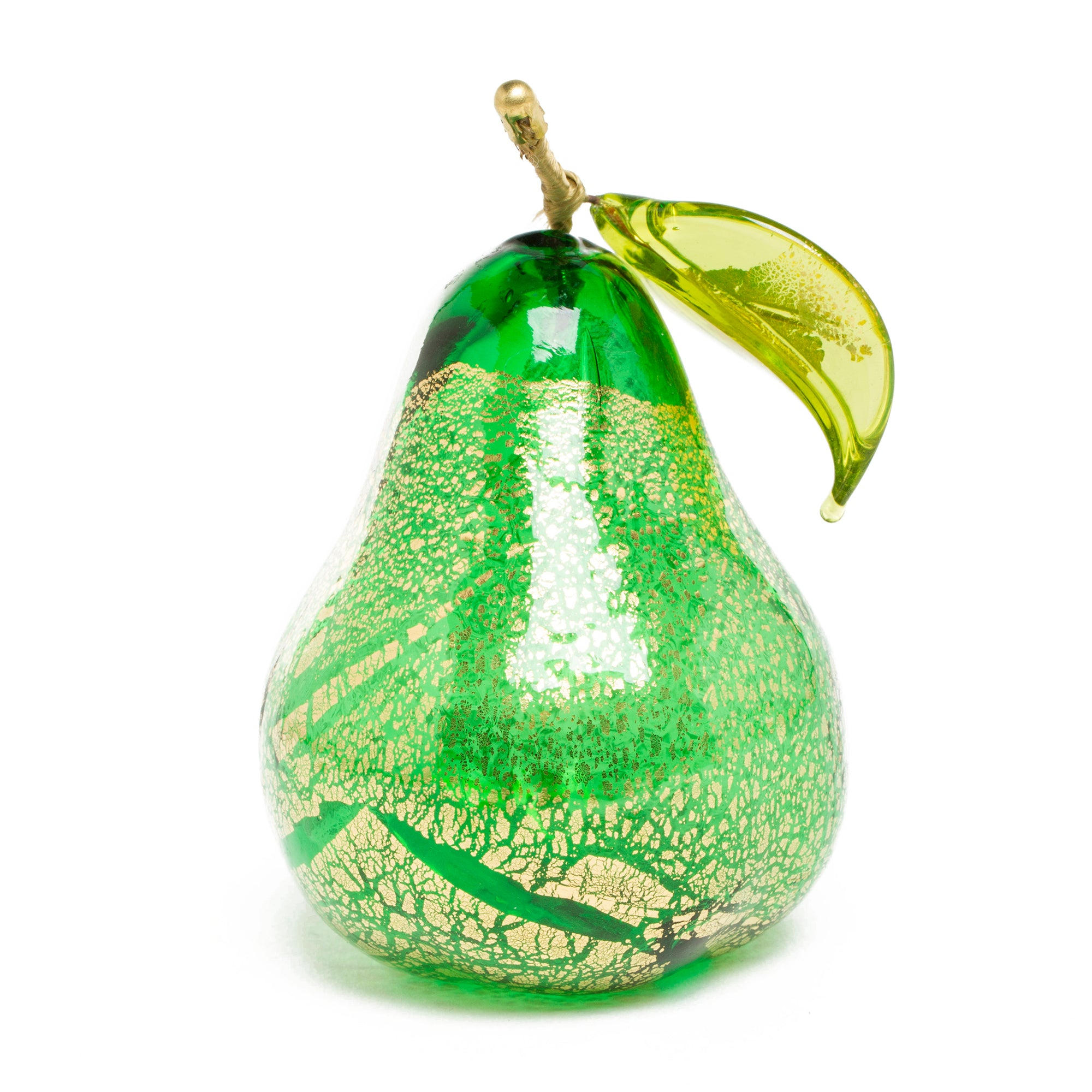 Hand blown Murano Glass Pear | Getty Store