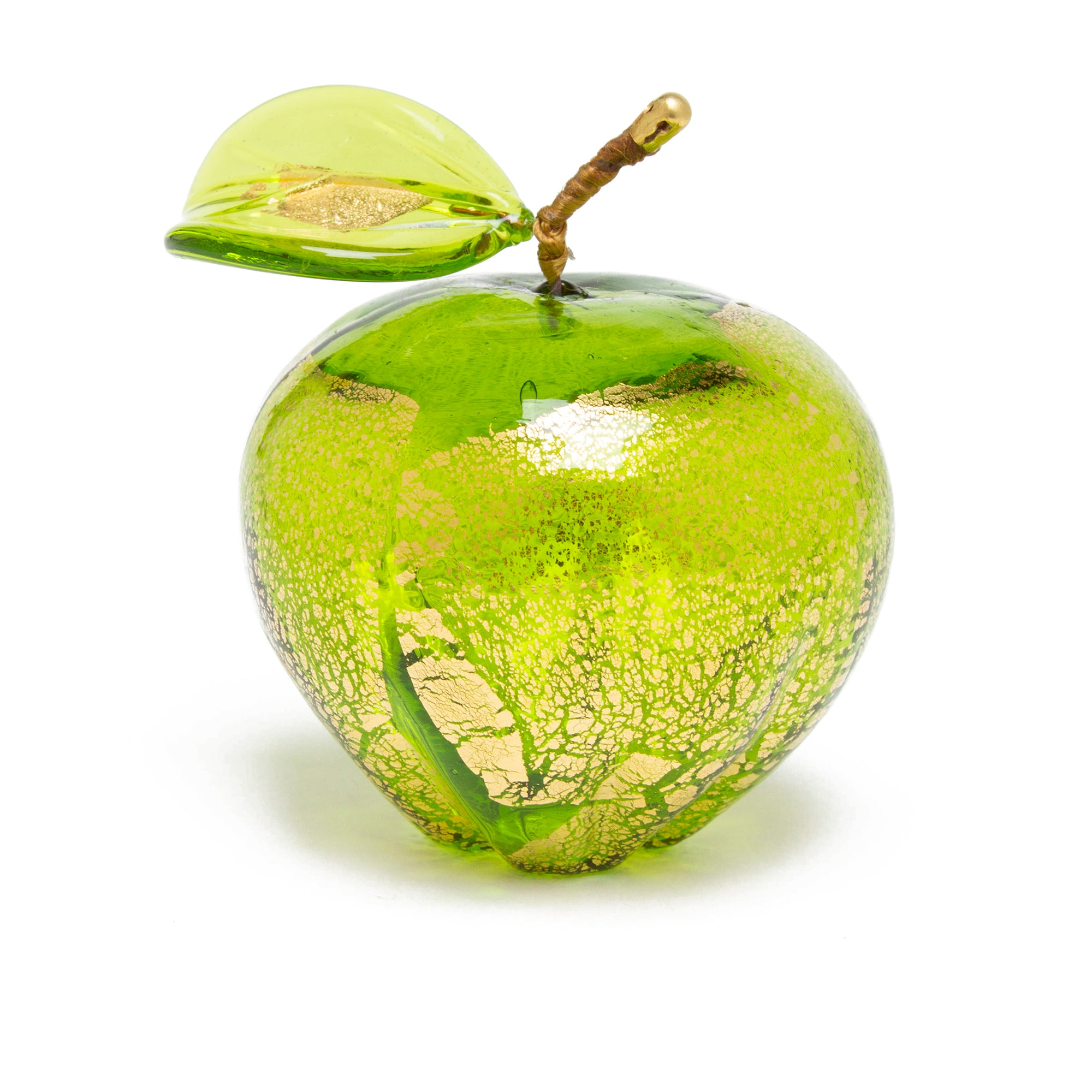 Hand blown Murano Glass Apple | Getty Store