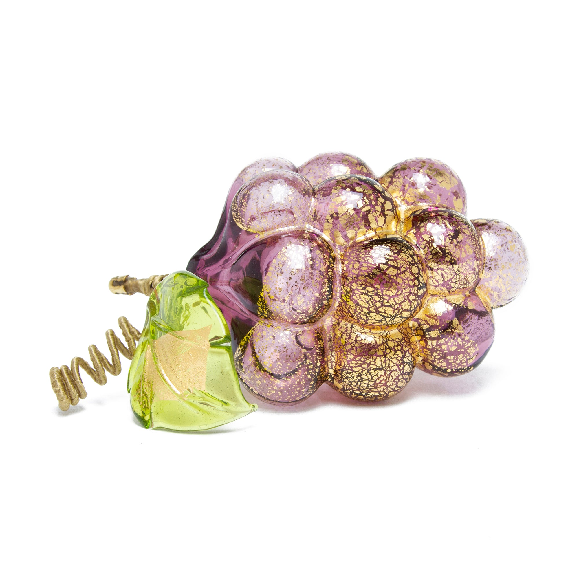 Hand blown Murano Glass Grapes | Getty Store