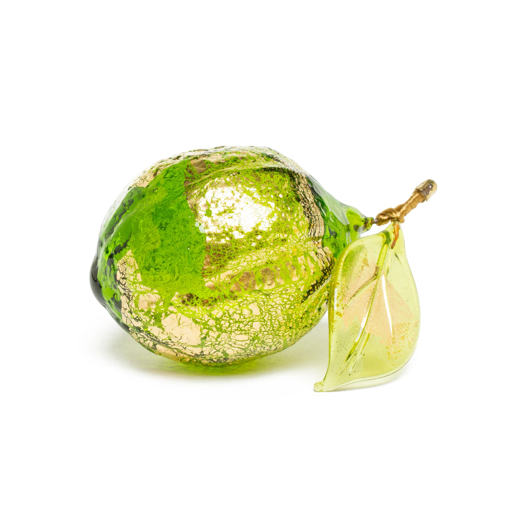 Handblown Murano Glass Lemon