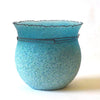 Light Blue Glass Vessel - Pate de Verre