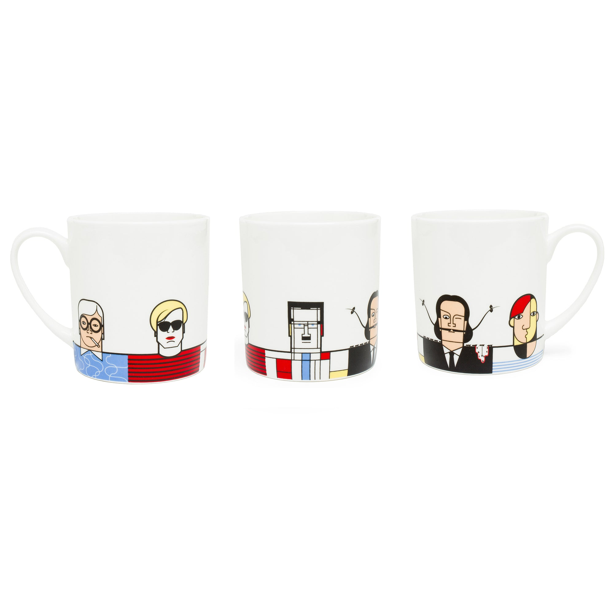 Great Modern Artists Porcelain Mug - Men