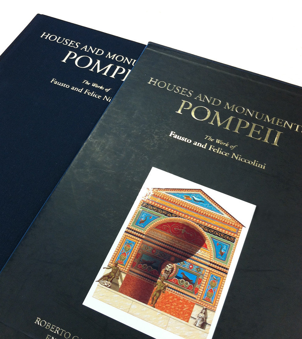 Houses and Monuments of Pompeii: The Work of Fausto and Felice  | Getty Store