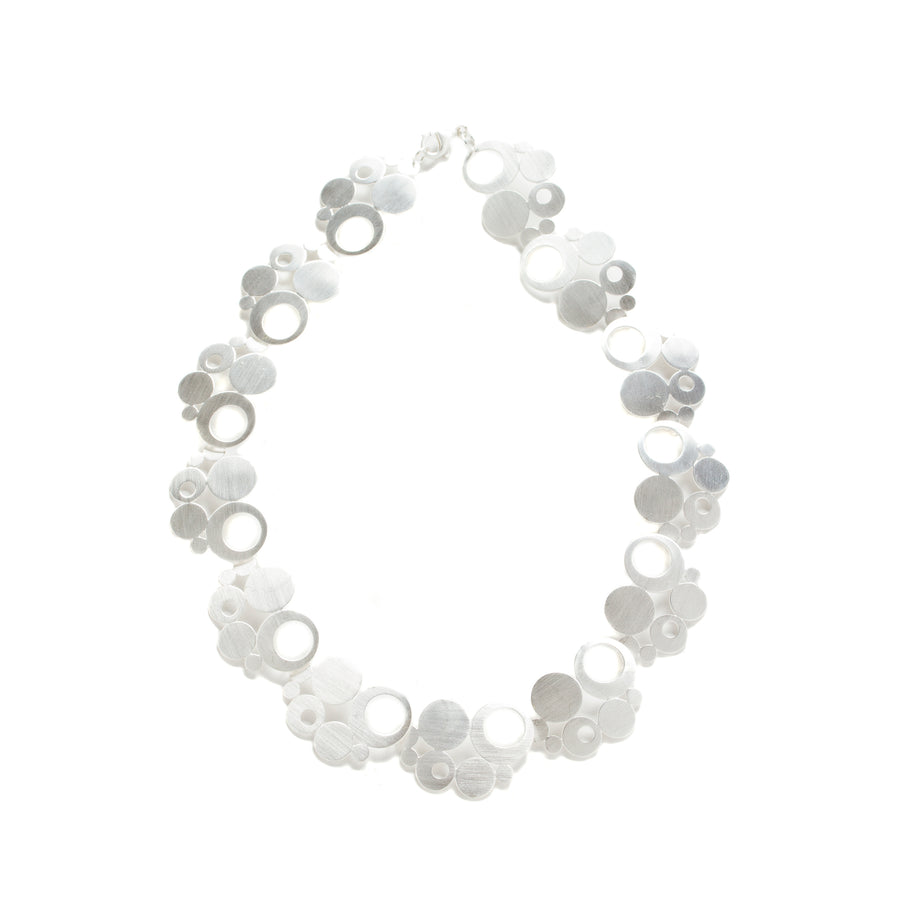 Sterling Silver Bubble Necklace
