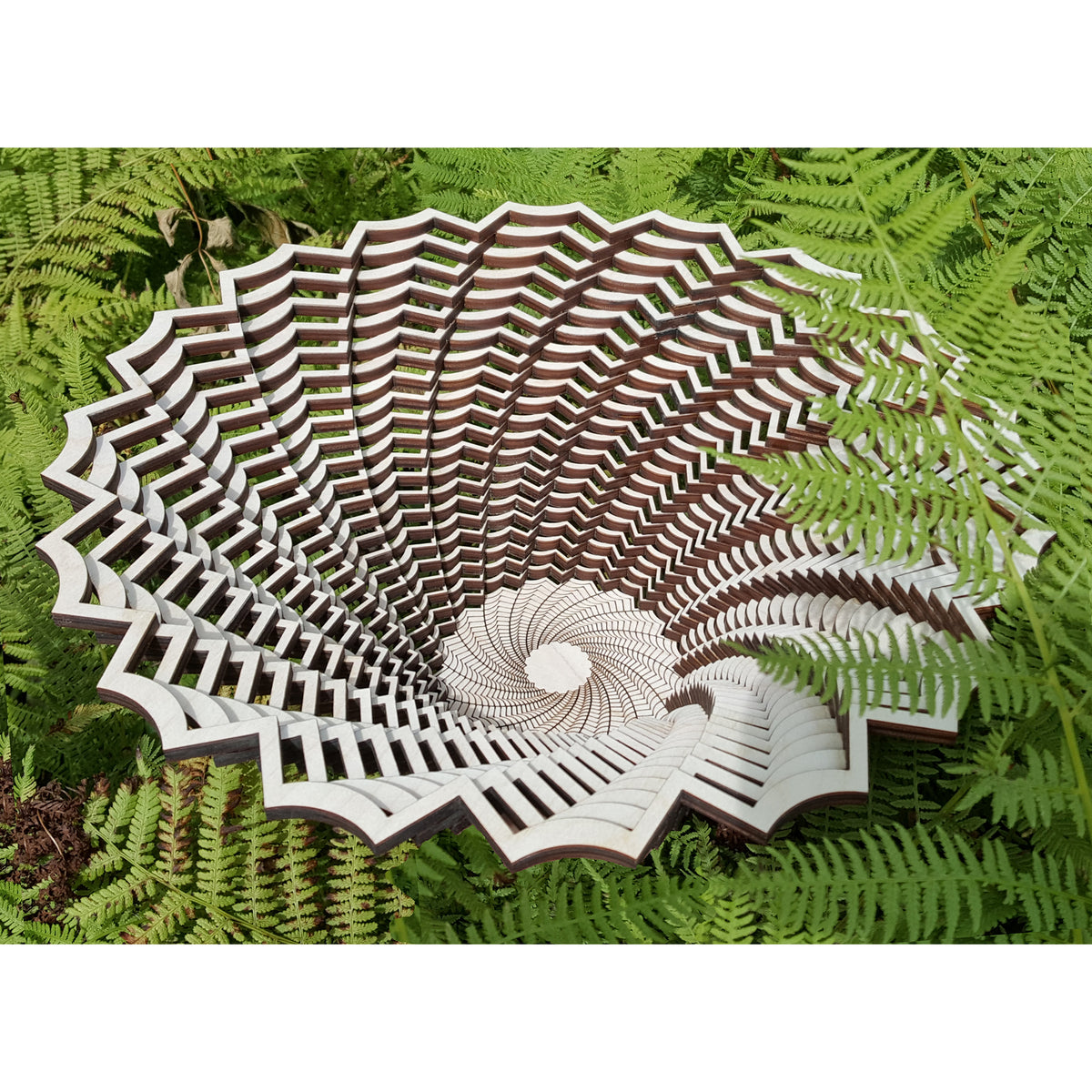 Small Wood Fern Bowl | Getty Store