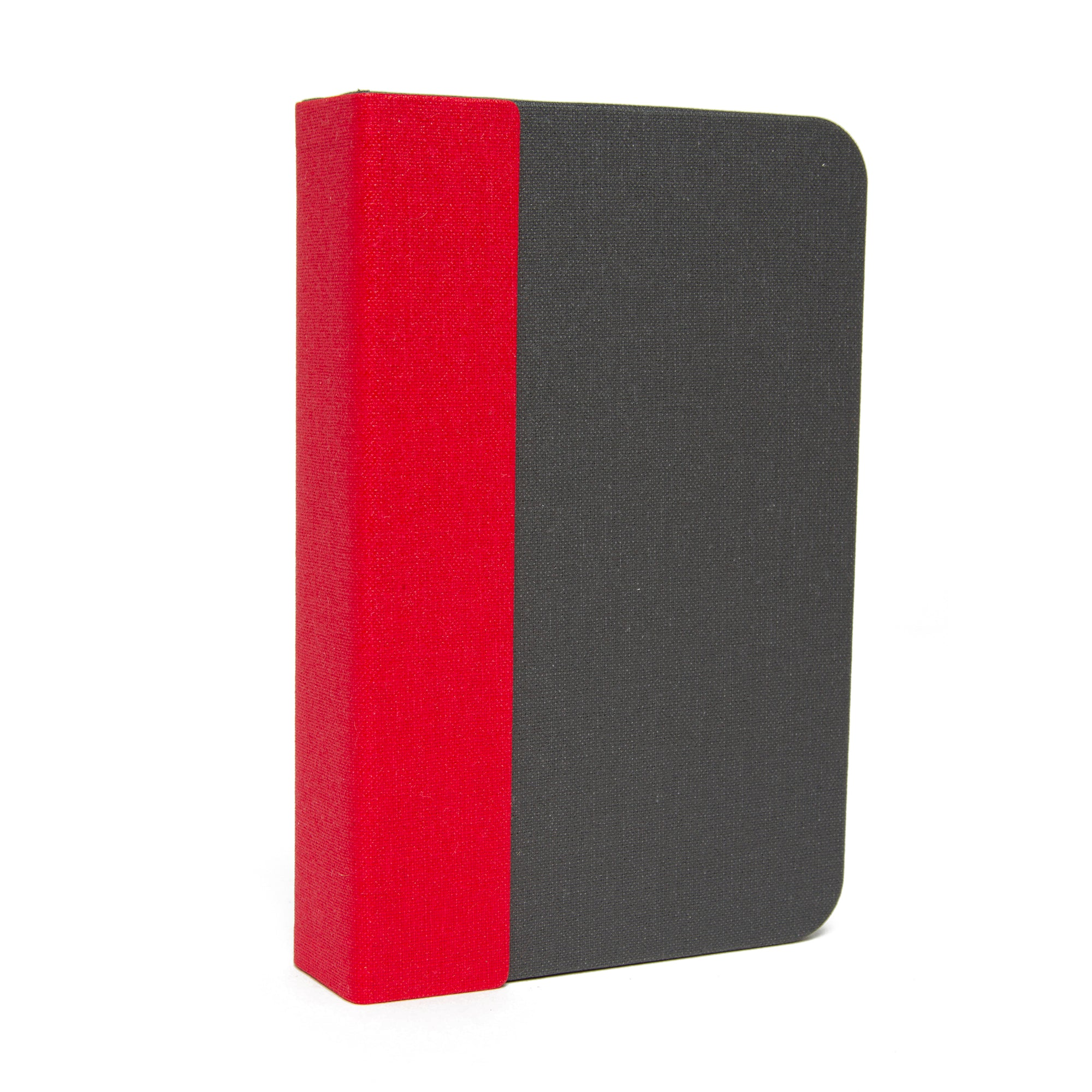 Lumio Mini Book Light and Charger- Grey with Red Spine | Getty Store