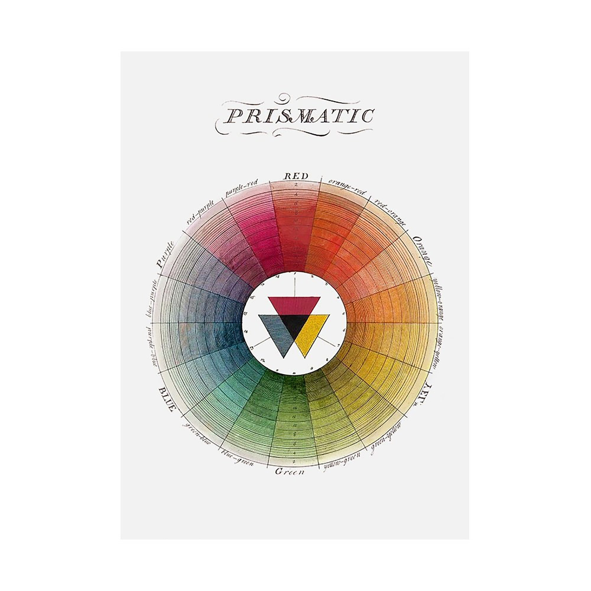 Color Wheel Tea Towel | Getty Store