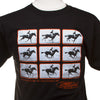 Muybridge T-shirt - Horse Galloping