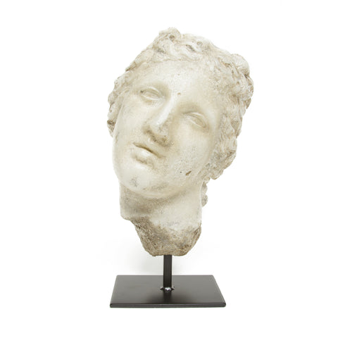 Head of Diana Sculpture