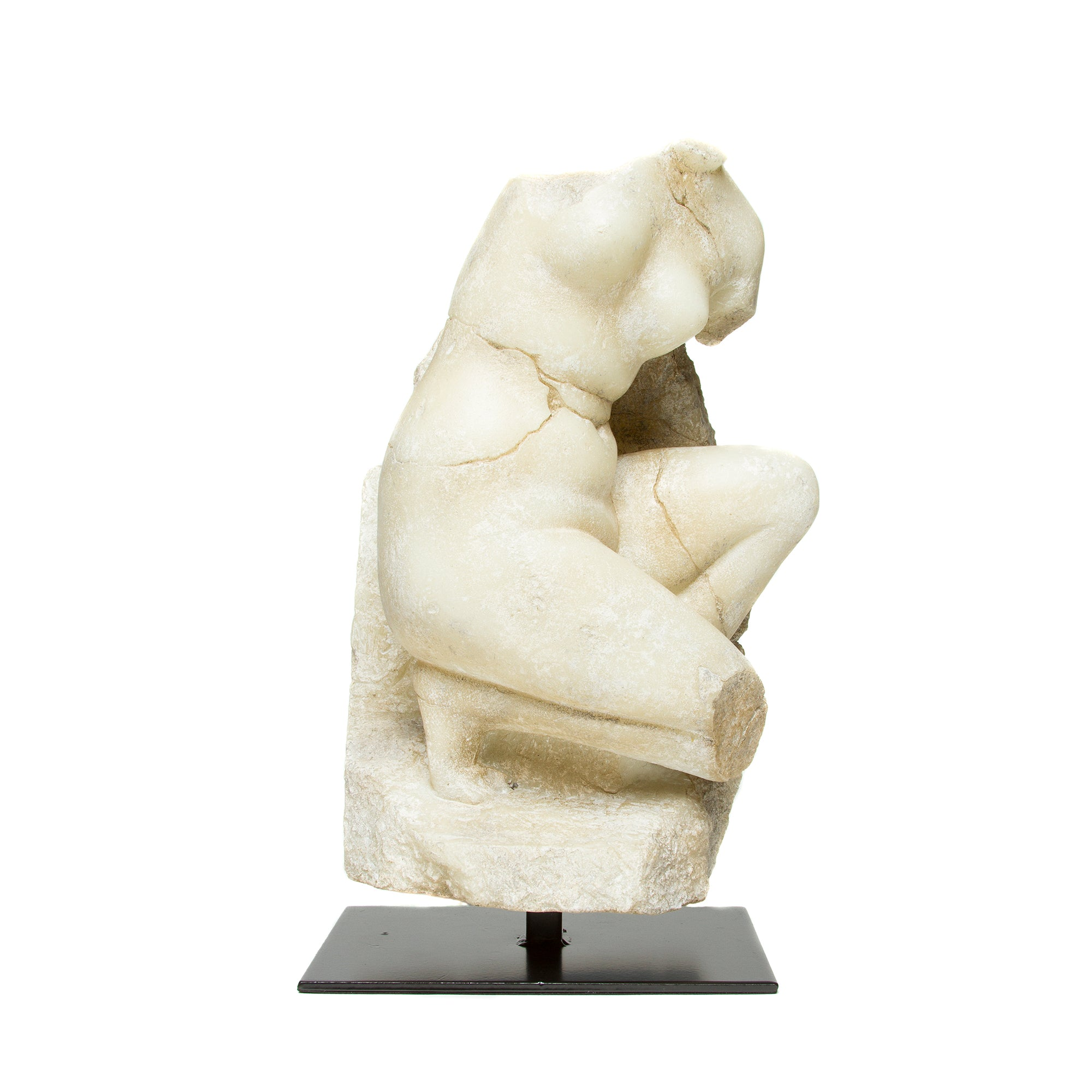 Venus on Knee Sculpture | Getty Store