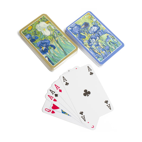 Van Gogh <i>Irises</i> Playing Cards - 2 Decks per Box