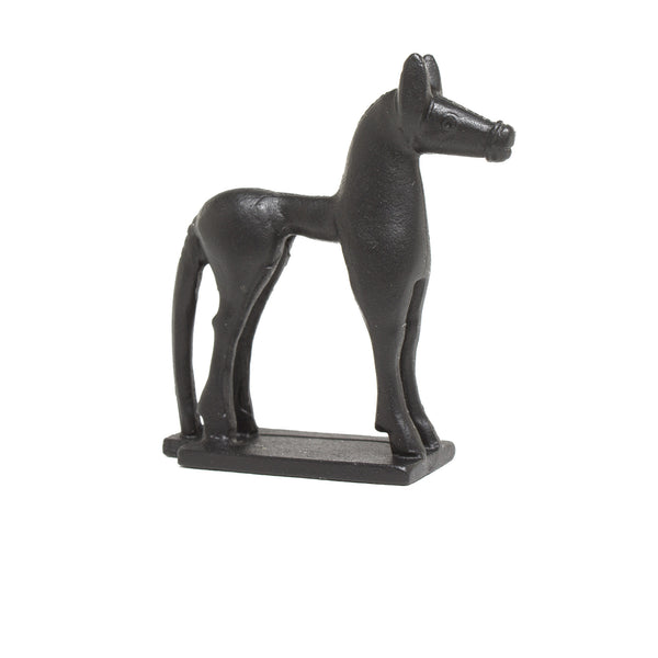 Sculpture of a Greek Horse in Miniature