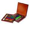 Premium Drawing Set in Wood Case
