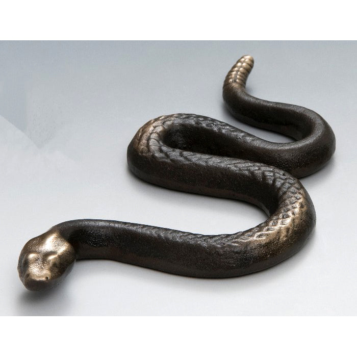 Bronze Rattlesnake Figurine | Getty Store