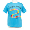 Getty Tram T-Shirt - Toddler Sizes - Turquoise