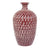 Ceramic Bottle- Ruby Carved | Getty Store