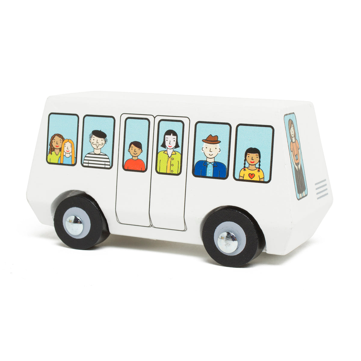 Wooden Getty Tram Toy | Getty Store