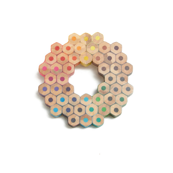 Colored Pencil Brooch