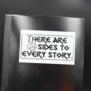 20 Sides to Every Story Vinyl Sticker - Sticker - GriffonCo