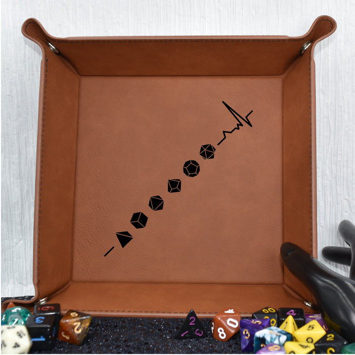 Dungeons and Dragons Lifeline Dice Tray