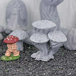 Alien Flora Fungi - Alien Flora Fungi - GriffonCo 3D Printed Miniatures & Gifts - Ill Gotten Games