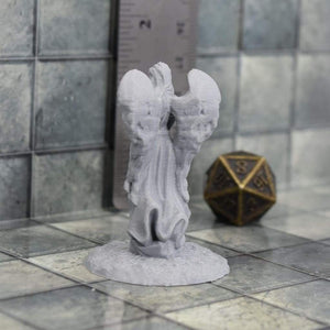 Angel Statue - Angel Statue - 3D Printed, Fat Dragon Games, FDM Terrain, featured, Graveyard, Historical, Pillars & Statues, PLA, Statue, Village