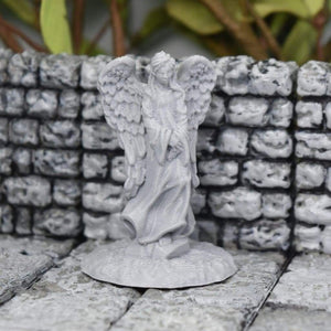 Angel Statue - Angel Statue - GriffonCo 3D Printed Miniatures & Gifts - Fat Dragon Games