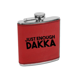 Just Enough Dakka Flask - Just Enough Dakka Flask - GriffonCo 3D Printed Miniatures & Gifts - GriffonCo Gifts