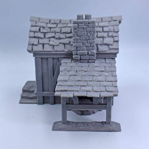 Blacksmith House - FDM Print - Dark Realms