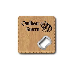 Owlbear Tavern Bottle Opener - Owlbear Tavern Bottle Opener - GriffonCo 3D Printed Miniatures & Gifts - GriffonCo Gifts