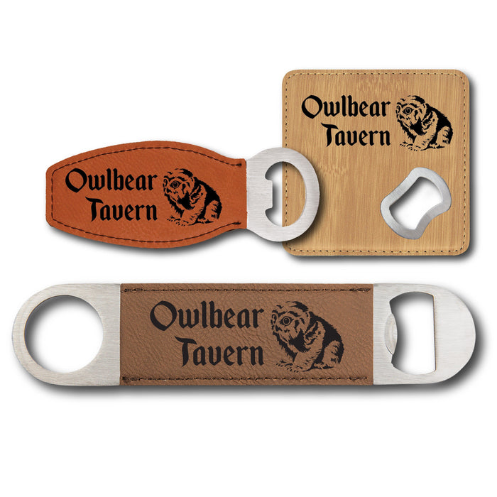 Owlbear Tavern Bottle Opener