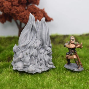 Burning Goblin Pyre - FDM Print - Duncan Shadow