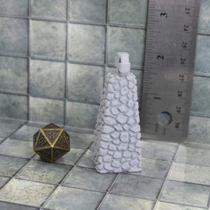 Cairn Pillar with Cross - FDM Print - Fat Dragon Games