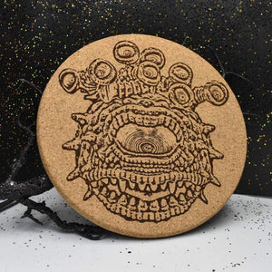 Cork Trivet - Eyebeast - Table Shield - GriffonCo